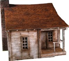 51004 -18th-19th Century Farm House - 3 Piece Set
