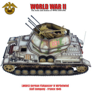 LWG013 German Flakpanzer IV Wirbelwind - Staff Company, France 1945