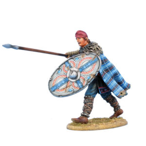 ROM230 Dacian Warrior with Spear and Shield