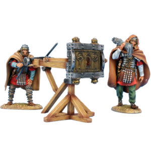ROM234 Winter Roman Scorpio with 2 Crew Figures