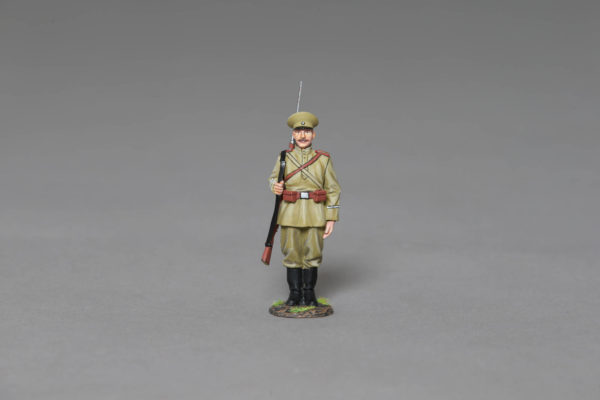 CLUB053 WW1 RUSSIAN RIFLEMAN STOOD TO ATTENTION