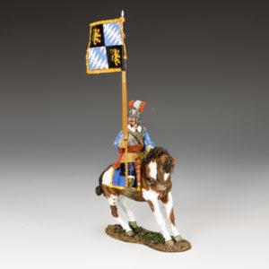 PnM059 Royalist Mounted Flagbearer, The English Civil War