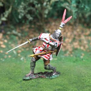 CS00728 - Wounded Knight-Jean, sire de Croy et Renty
