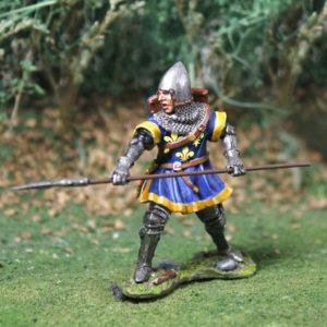 CS00796 - English Man At Arms w/lance