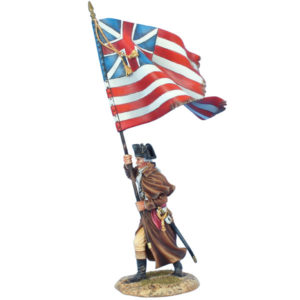 AWI118 US 12th Continental Regt Standard Bearer