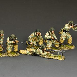 LW-S01 The Fallschirmjager Fire Support Group Set