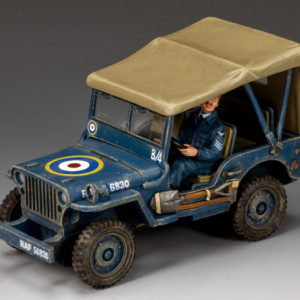 RAF051 The Royal Air Force Jeep