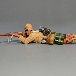 BOER6003 British Infantryman Lying Firing