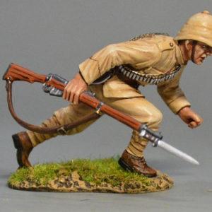 BOER6006 British Infantryman Running