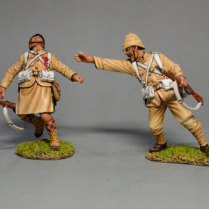 BOER6009 British Infantryman Trying to Help his Friend