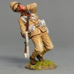 BOER6010 British Infantryman Falling Shot