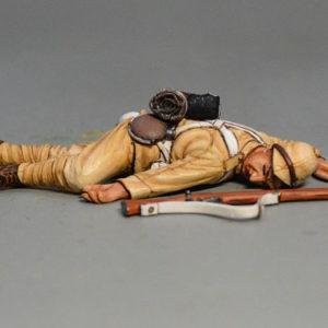 BOER6011 British Infantryman Lying Dead #2
