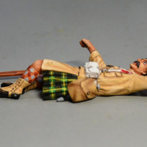 BOER6012 British Infantryman Lying Wounded