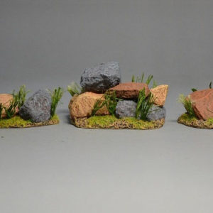BOER6015 Group of Rocks (3 Pieces)