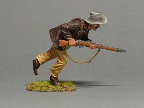 BOER6021 Boer Running w/Rifle