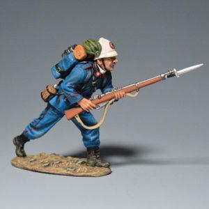 PGIT6007-B Italian Bersaglieri Running w/Rifle (B)