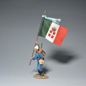 PGIT6009-B Italian Bersaglieri Flagbearer (B)