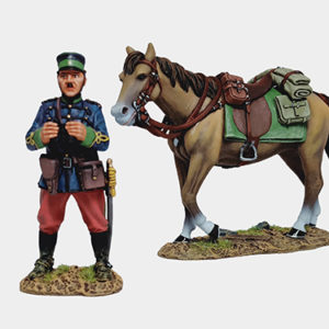 RJWR6013 JAPANESE OFFICER WITH HORSE