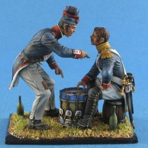 """FL54012 French Infantry """"Card Players"""""""