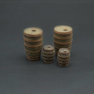ACCPACK 062 WOODEN BARRELS (set of 4)