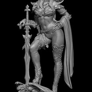 FL7516 Female Vampire Resin Kit
