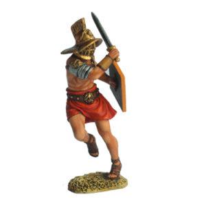 ROM6011-TM Thraex slashing with a sword