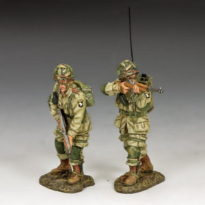 DD285-2 US Paratroopers Covering Fire (101st Airborne)
