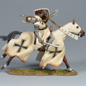 BOL6002 Mounted Teutonic Knight Wounded