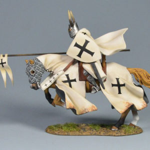 BOL6003 Mounted Teutonic Knight Charging w/Standard