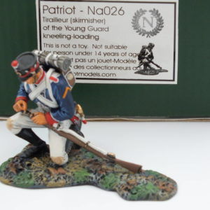 NA026-Patriot Tirailler of the Young Guard Kneeling Loading