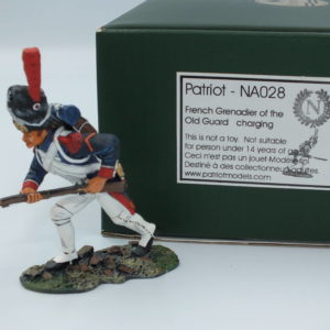 NA028 French Grenadier of the Old Guard Charging