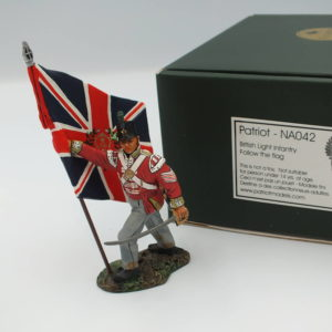 NA042 British Light Infantry Defending the Flag