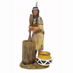 IDA6022 Sioux Warrior Sitting