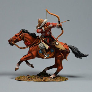 MGL6016 Mongol Horse Archer Firing Backwards