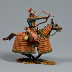 MGL6017 Team Miniatures Mongol Horse Archer Firing Forwards