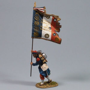 PFW-F6010 French Line Infantry Flagbearer