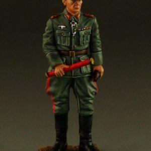 Erwin Rommel holding Field Marshals Baton