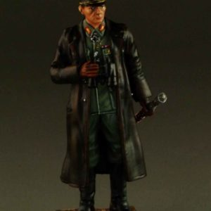 Rommel in Leather Coat
