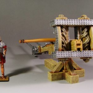 Roman Catapult #1 with Soldier