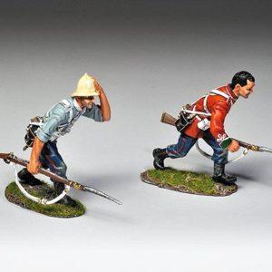 SFA002A Infantrymen Running