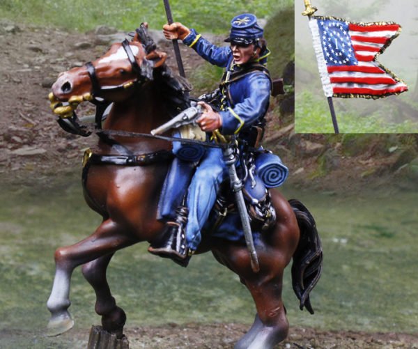 CS01064 - Union Cavalry Flagbearer