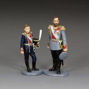 TR003 Tsar Nicholas II & Tsarevich Alexei