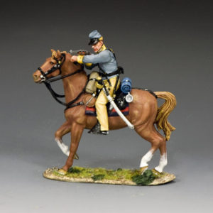 CW111 Confederate Cavalry Trooper Loading Carbine