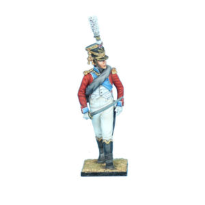 NAP0685 Swiss 4th Line Infantry Officer