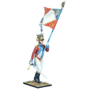 NAP0686 Swiss 4th Line Infantry Standard Bearer