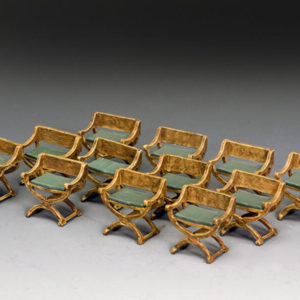 'Ancient Seats' (Set of 4)