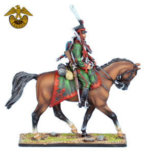 NAP0663 Russian Pavlogradsky Hussars with Sword
