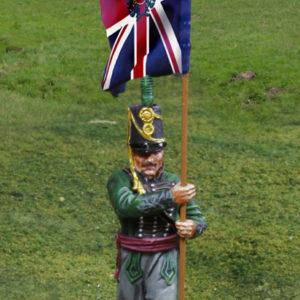 CS00815 KGL Flagbearer