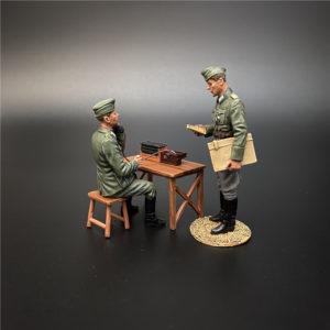NO013 the Wehrmacht Radio Distribution Set B