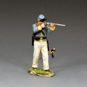 CW117 Standing Trooper Firing Carbine